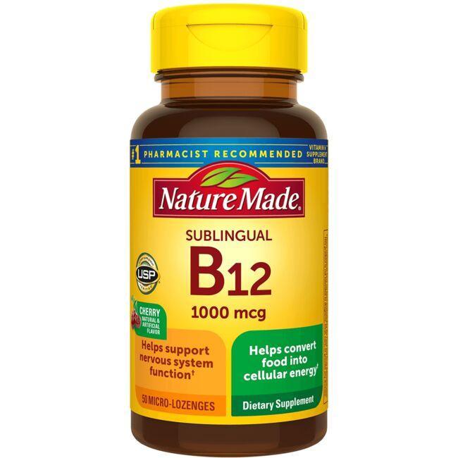 Nature MadeSublingual B-12 - Cherry