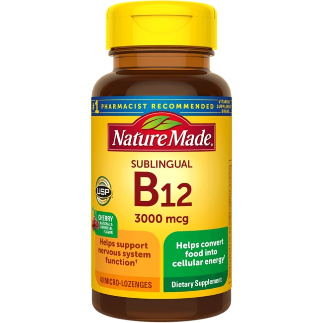 Nature Made Sublingual B-12 - Cherry