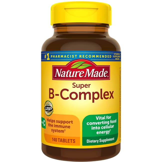 Nature Made Vitamin B Super Complex Reviews