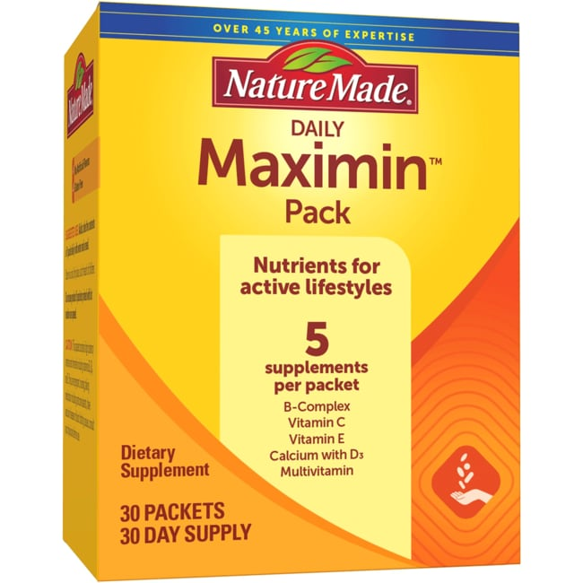 Nature MadeDaily Maximin Pack