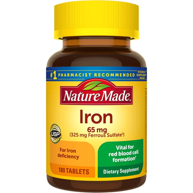 Nature Made Iron Supplement Review