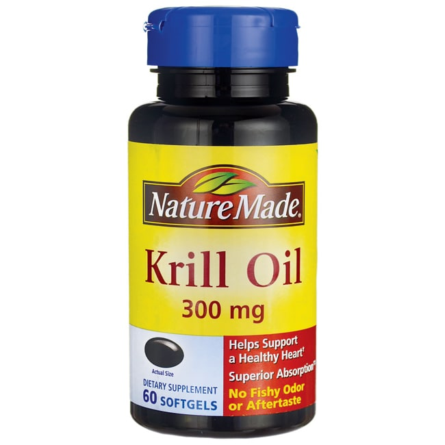 Nature Made Krill Oil 300 mg 60 Sgels