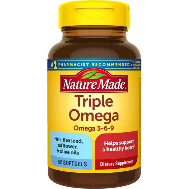 Nature MadeTriple Omega Omega 3-6-9