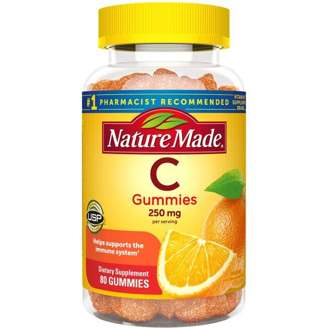 Nature Made Adult Gummies Vitamin C - Tangerine