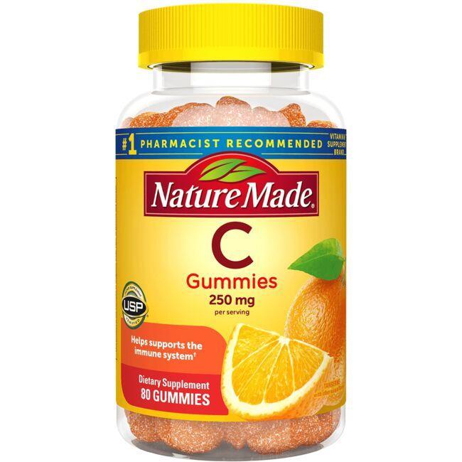 Nature MadeAdult Gummies Vitamin C - Tangerine