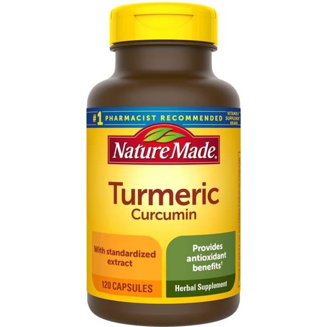 Nature Made Turmeric Curcumin 500 mg 120 Caps