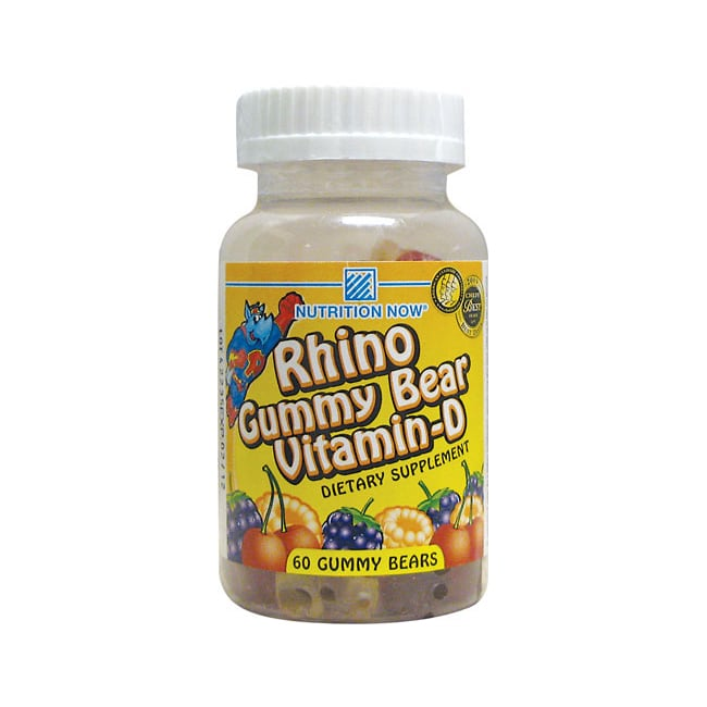 Nutrition Now Rhino Gummy Vitamin D3