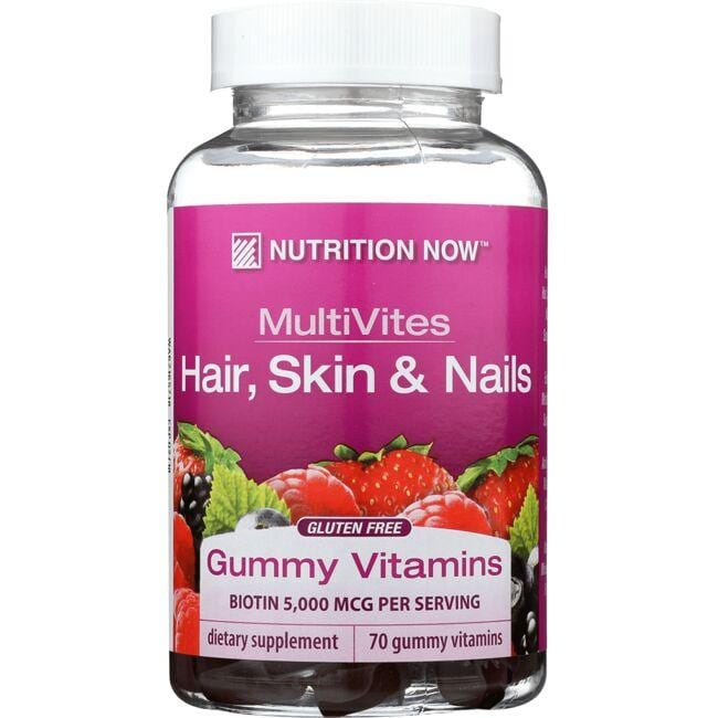 Nutrition Now MultiVites Hair, Skin & Nails - Mixed Berry