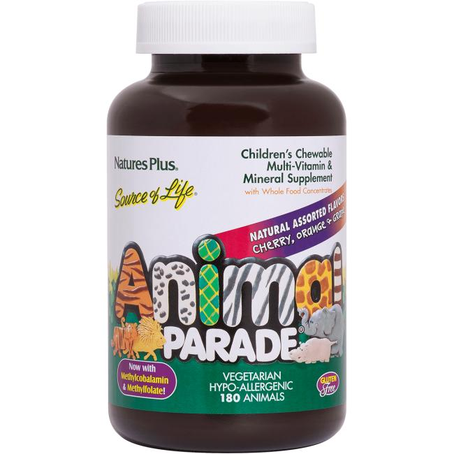 Nature's PlusAnimal Parade Children's Chewable Multi-Vitamin and Mineral