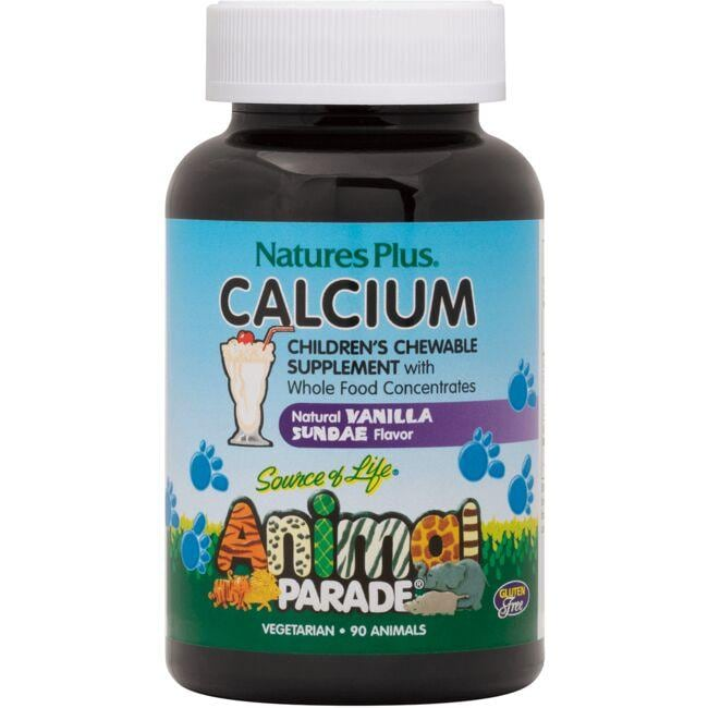 Nature's Plus Animal Parade Children's Calcium - Vanilla Sundae