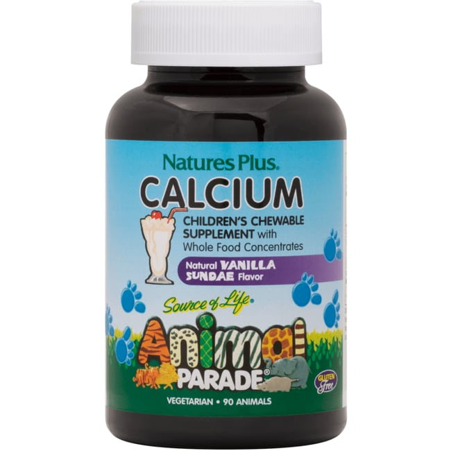 Nature's PlusAnimal Parade Children's Calcium Vanilla