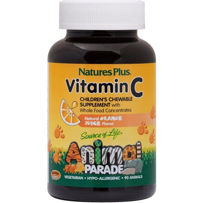 Nature's PlusAnimal Parade Vitamin C - Orange Juice Flavor
