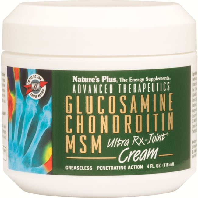 Nature's Plus Glucosamine, Chondroitin & MSM RX Joint