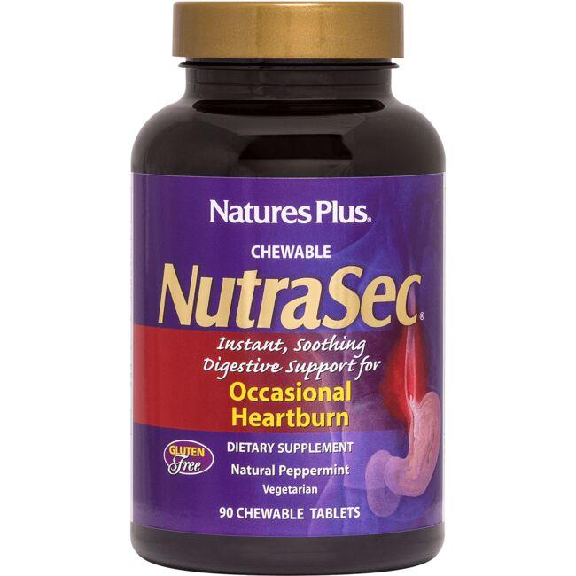 Nature's PlusNutraSec Chewable - Peppermint