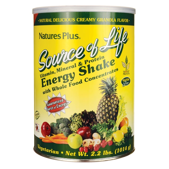 Nature's PlusSource Of Life Energy Shake Granola