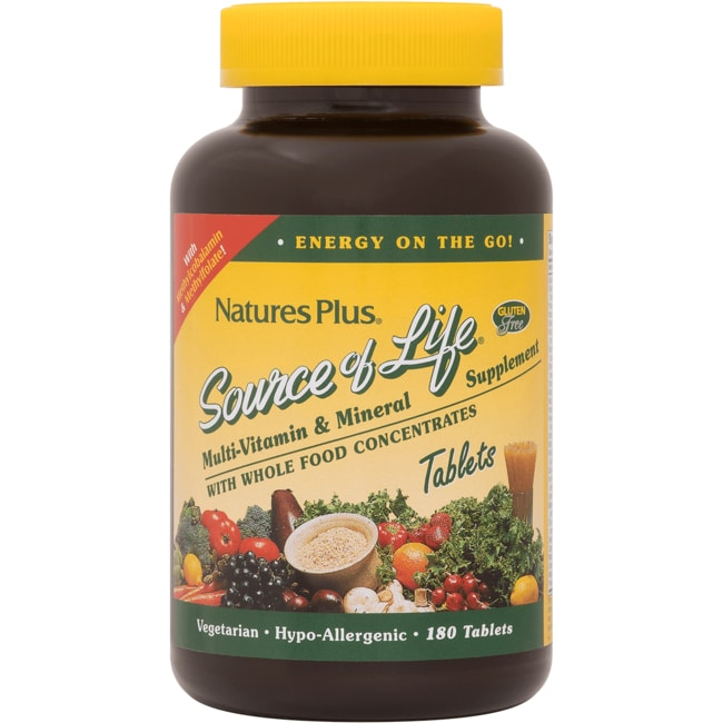 Nature's Plus Source of Life Multi-Vitamin with Iron