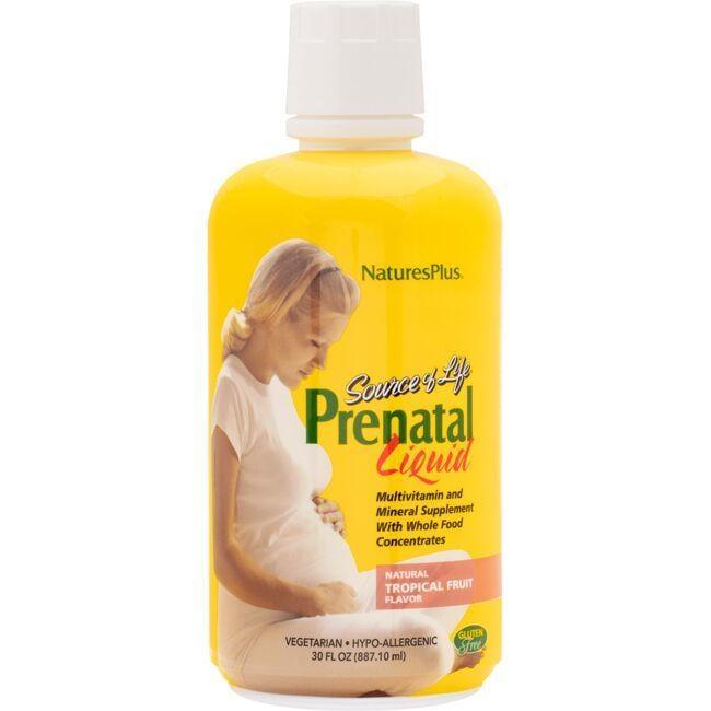 Nature's PlusSource of Life Prenatal Liquid - Tropical Fruit