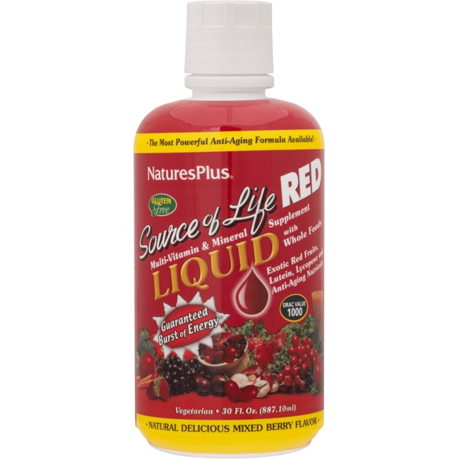 Nature's Plus Source Of Life Red Mixed Berry