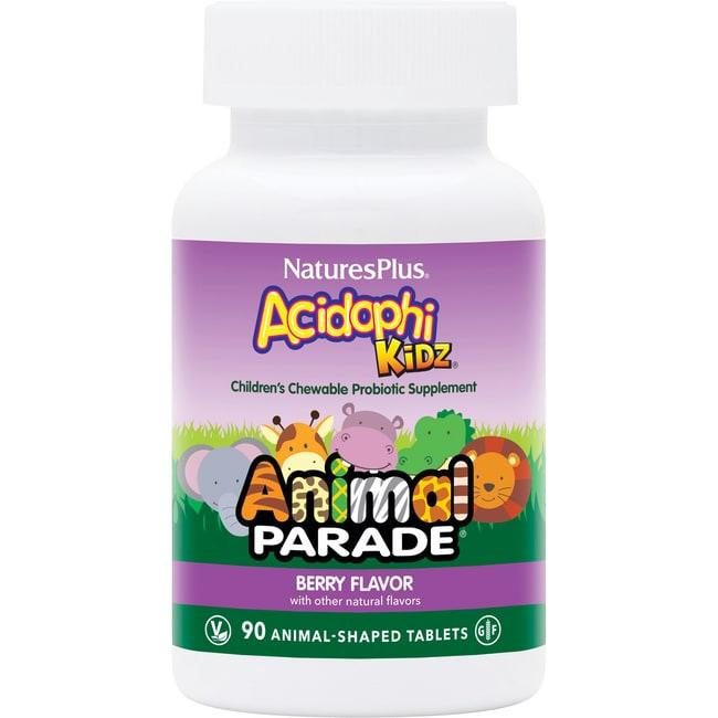 Nature's Plus Animal Parade AcidophiKidz Berry
