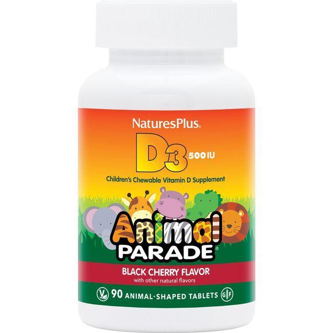 Nature's PlusAnimal Parade Vitamin D3 Black Cherry