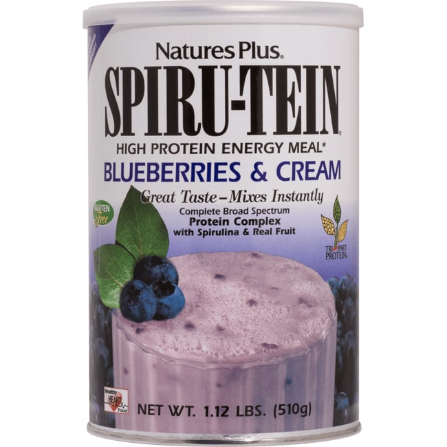 Nature's PlusSpiru-Tein Energy Meal - Blueberries & Cream