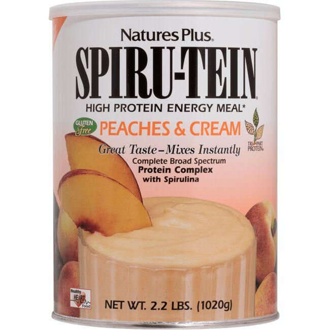 Nature's PlusSpiru-Tein Energy Meal - Peaches & Cream