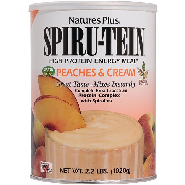 Nature's PlusSpiru-Tein Energy Meal - Peaches & Cream