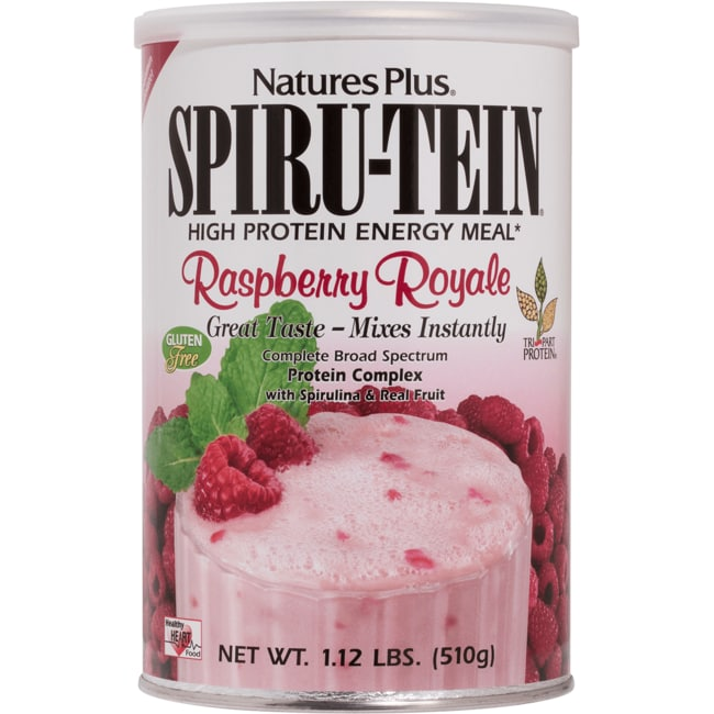 Nature's Plus Spiru-Tein Energy Meal - Raspberry Royale