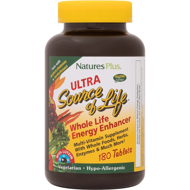 Nature's Plus Ultra Source of Life with Lutein