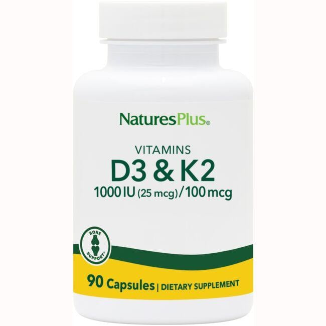 Nature's Plus Vitamin D3 & K2