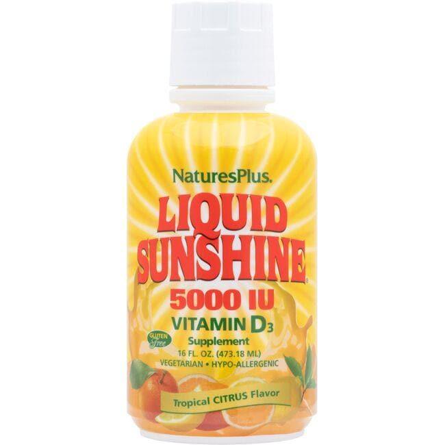 Nature's PlusLiquid Sunshine Vitamin D3 - Tropical Citrus