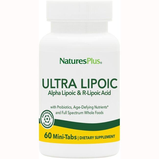 Nature's PlusUltra Lipoic - Alpha Lipoic And R-Lipoic Acid