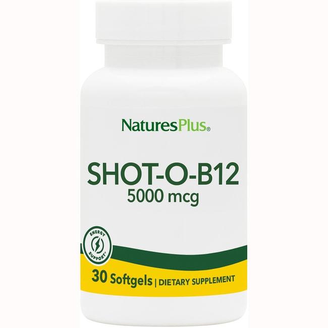 Nature's Plus Shot-O-B12 Softgels