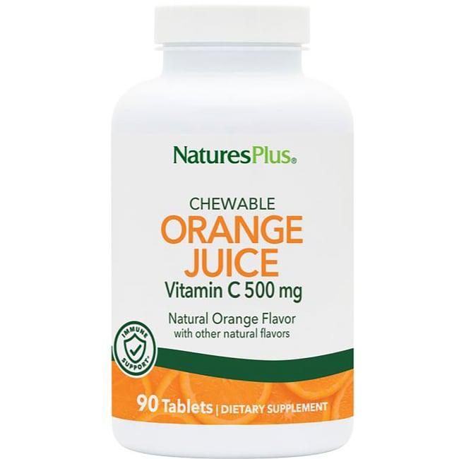 Nature's Plus Orange Juice Chewable Vitamin C