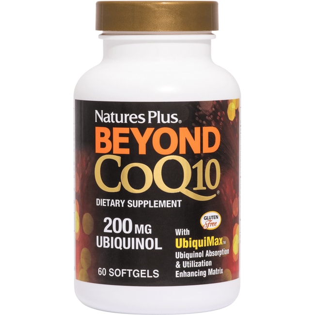 Nature's Plus Beyond CoQ10 200mg Ubiquinol