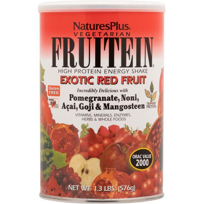 Nature's Plus Fruitein Exotic Red Fruit Protein Energy