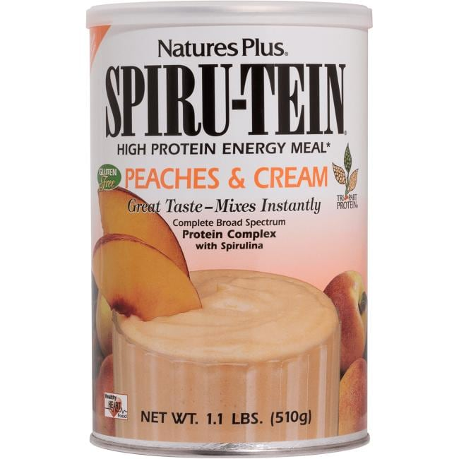 Nature's PlusSpiru-Tein Protein Energy Meal - Peaches & Cream