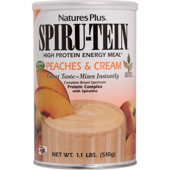 Nature's Plus Spiru-Tein Protein Energy Meal - Peaches & Cream