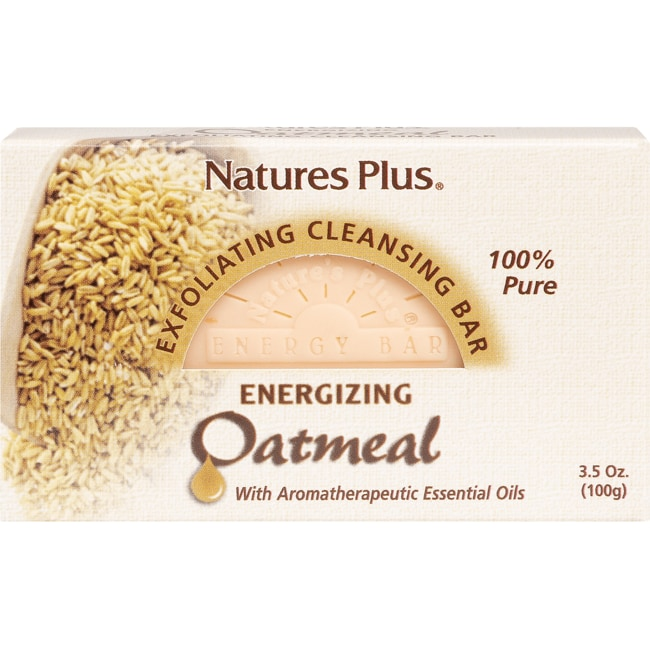 Nature's Plus Oatmeal Exfoliating Cleansing Bar