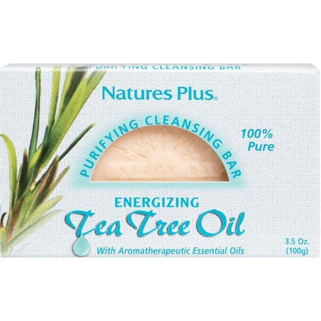 Nature's PlusTea Tree Oil Purifying Cleansing Bar