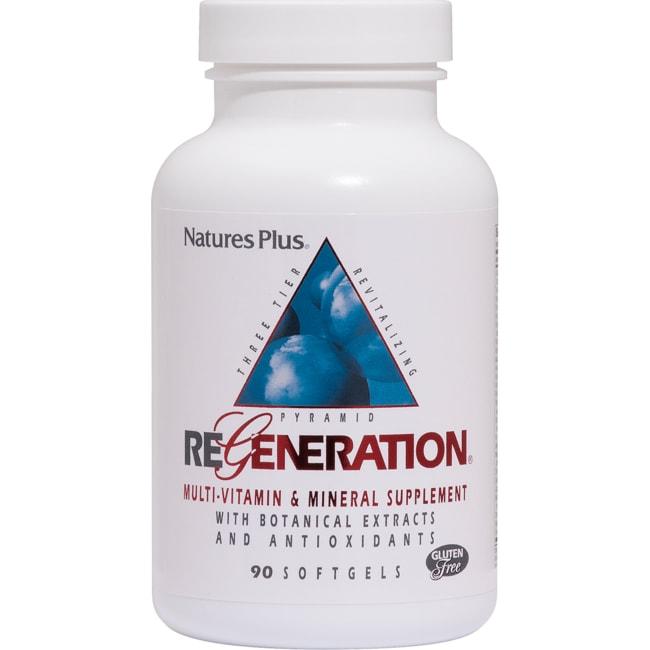 Nature's Plus Regeneration Complejo de vitaminas y minerales