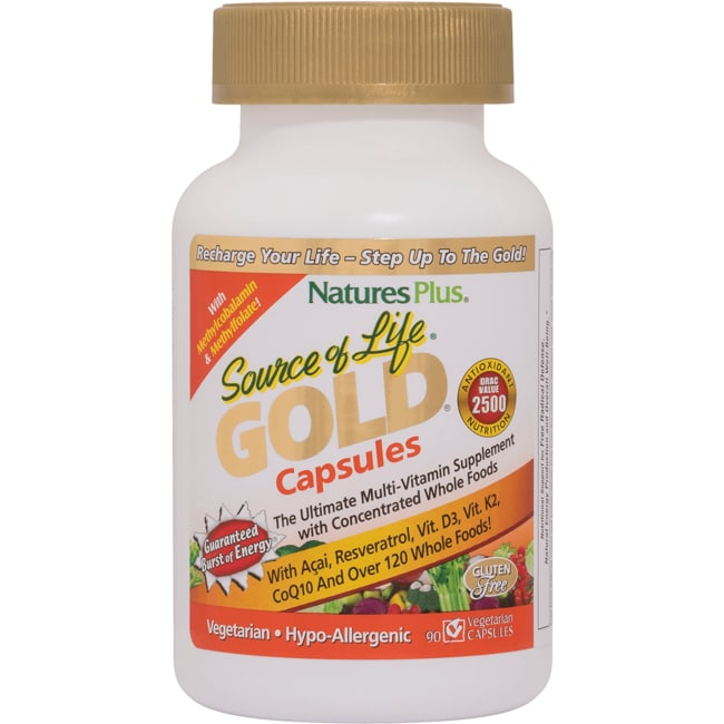 Nature's Plus Source of Life Gold Capsules