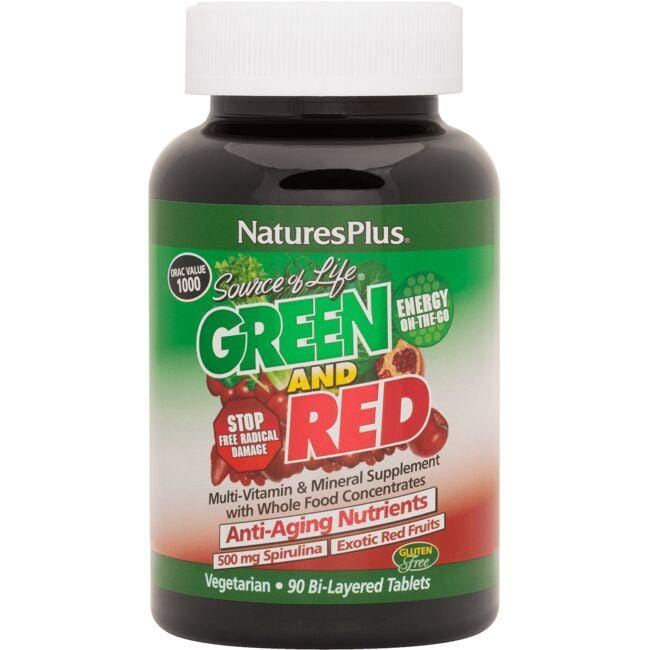 Nature's PlusSource of Life Green and Red