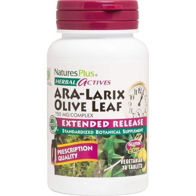 Nature's Plus ARA-Larix Olive Leaf Extended Release