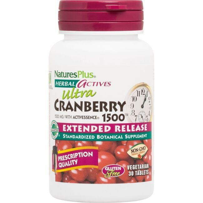 Nature's PlusUltra Cranberry 1500 Extended Release