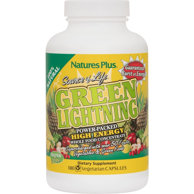 Nature's Plus Source of Life Green Lightning