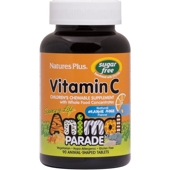 Nature's PlusAnimal Parade Sugar Free Vitamin C
