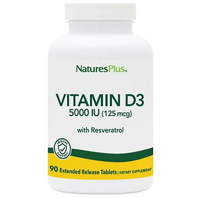 Nature's Plus Nature's Plus Ultra Vitamin D3 with Trans-Resveratrol