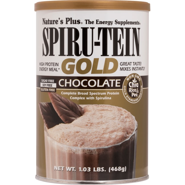 Nature's PlusSpiru-Tein Gold - Chocolate