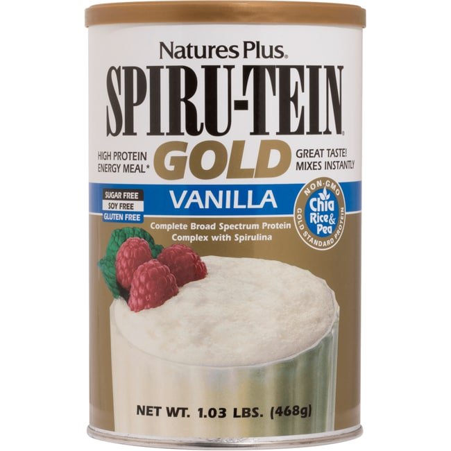 Nature's Plus Spiru-Tein Gold - Vanilla